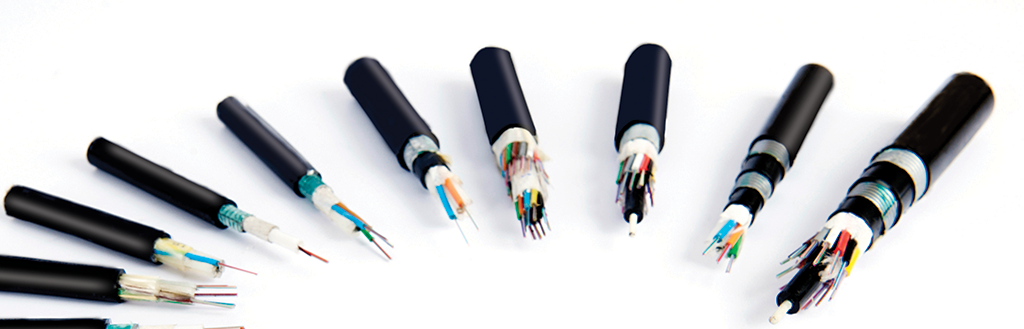 Icon of Fiber Optic Cables